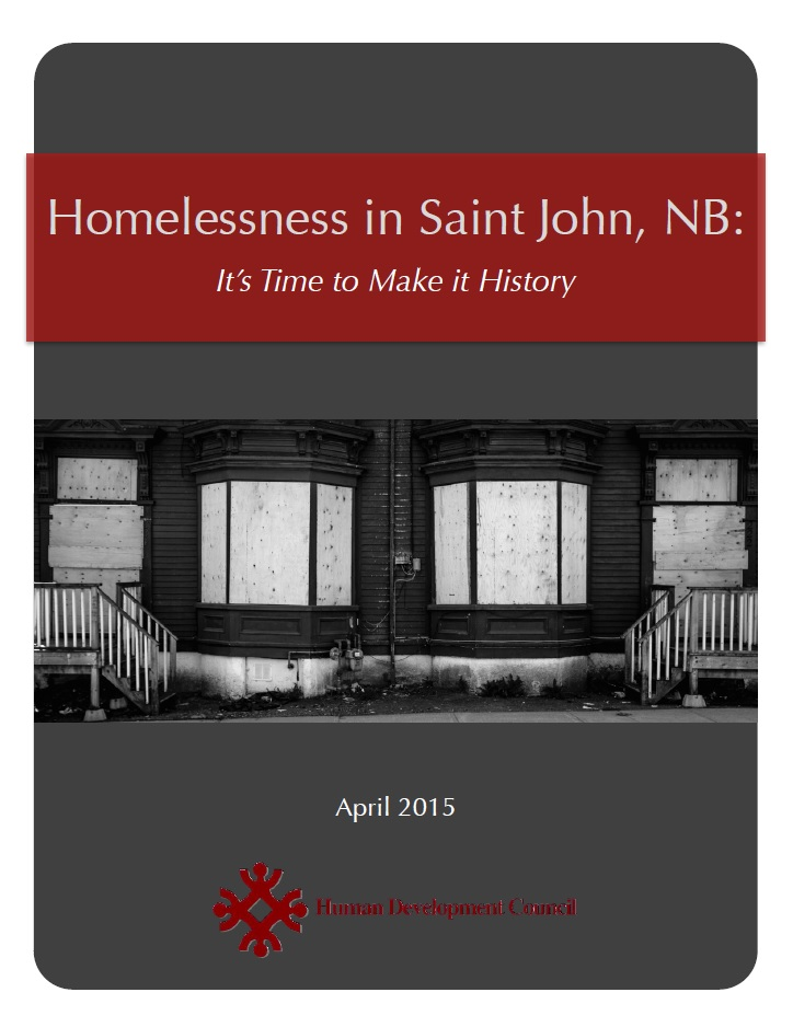Saint John Homelessness Report Card
