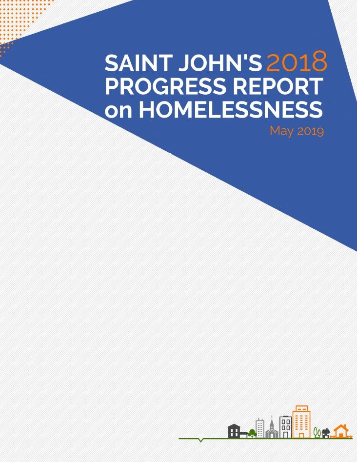 Saint John Progress Report on Homelessness