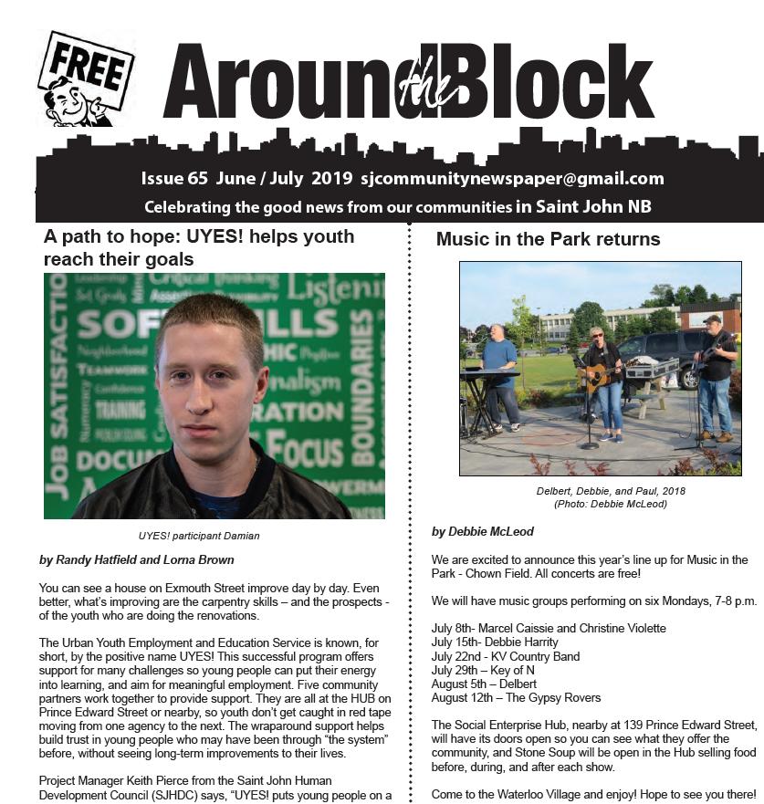 Around the Block Issue 65