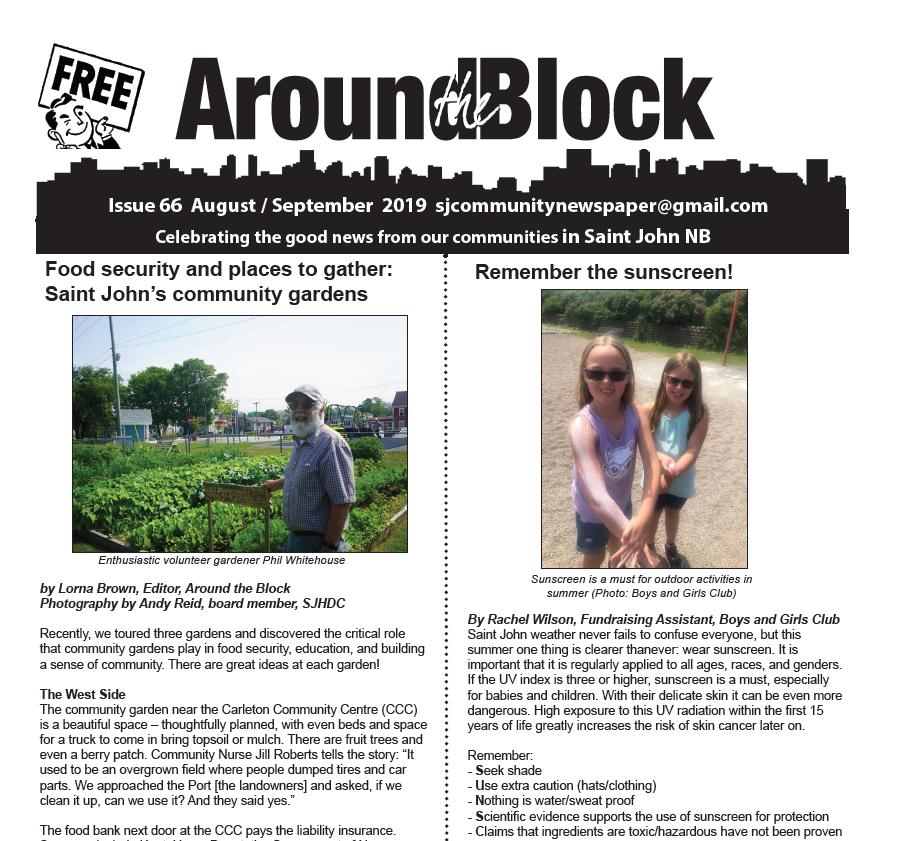 Around the Block Issue 66