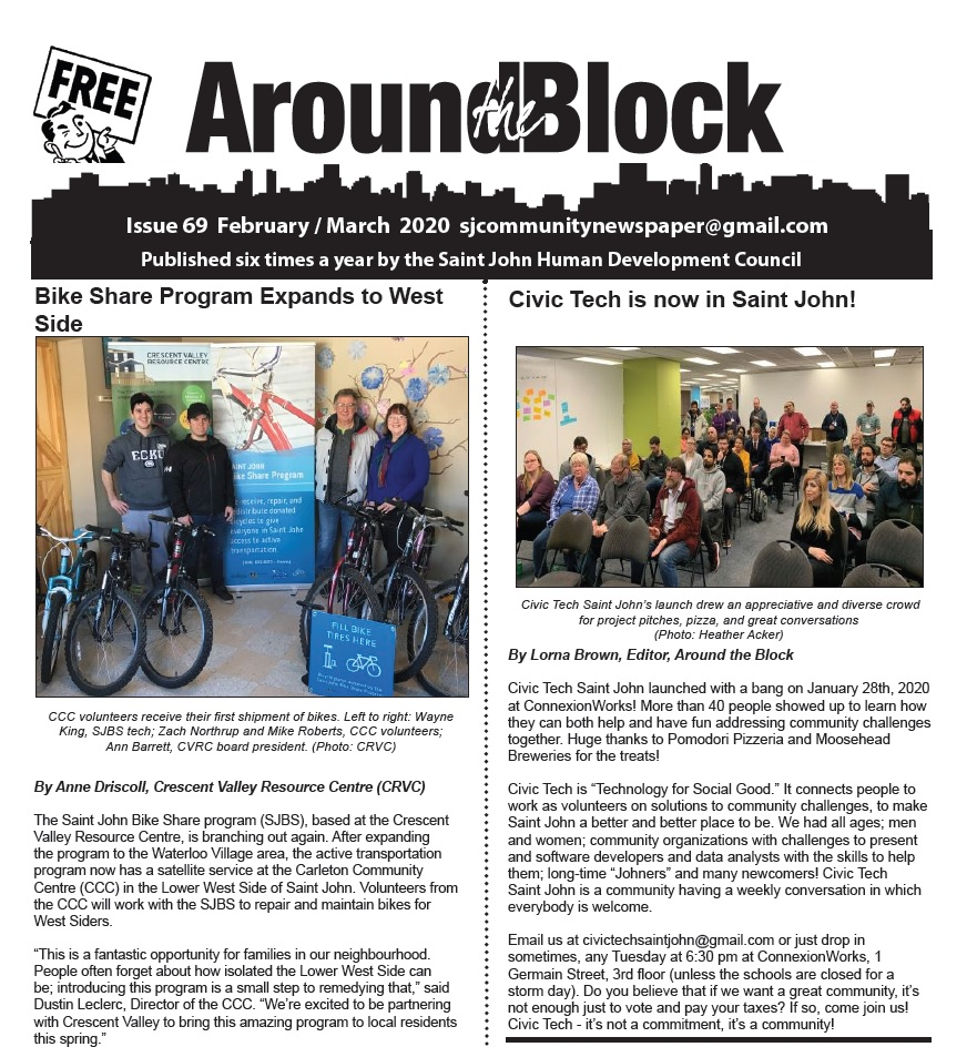 Around the Block Issue 69