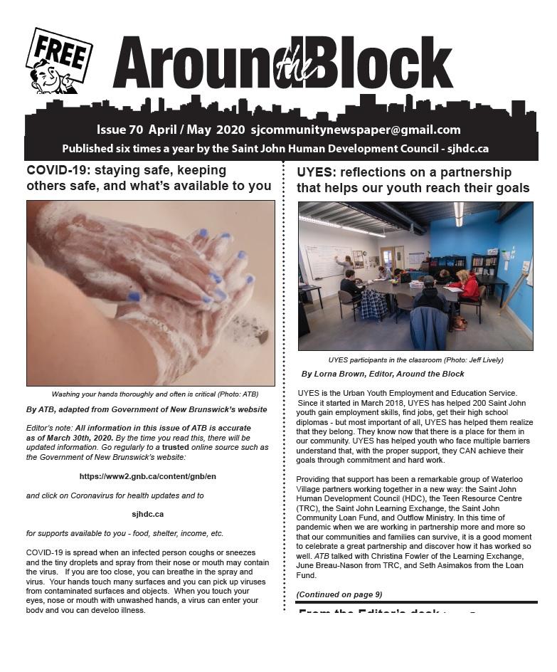 Around the Block Issue 70