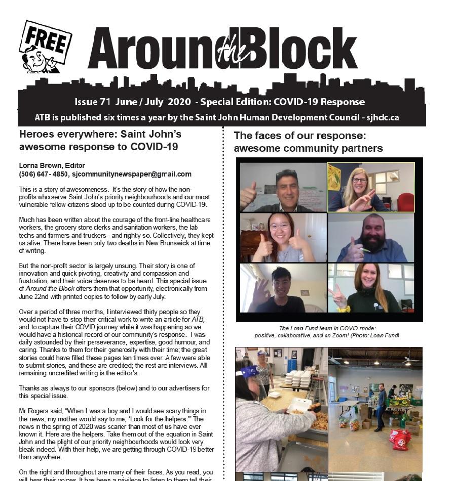 Around the Block Issue 71