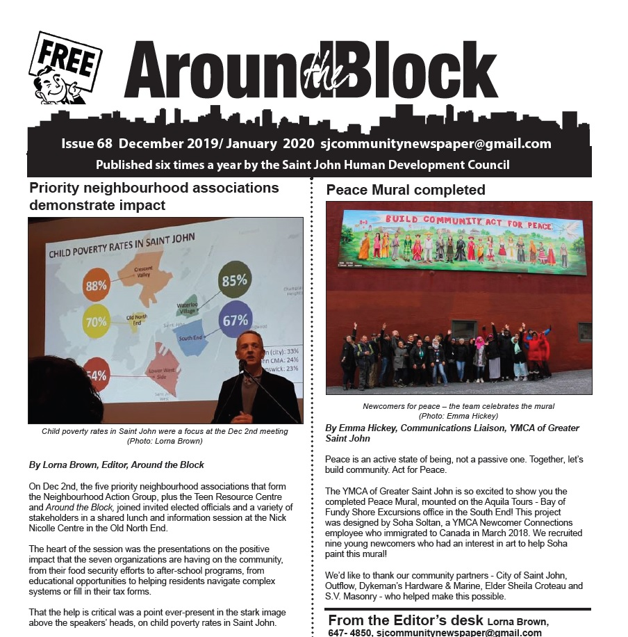 Around the Block Issue 68