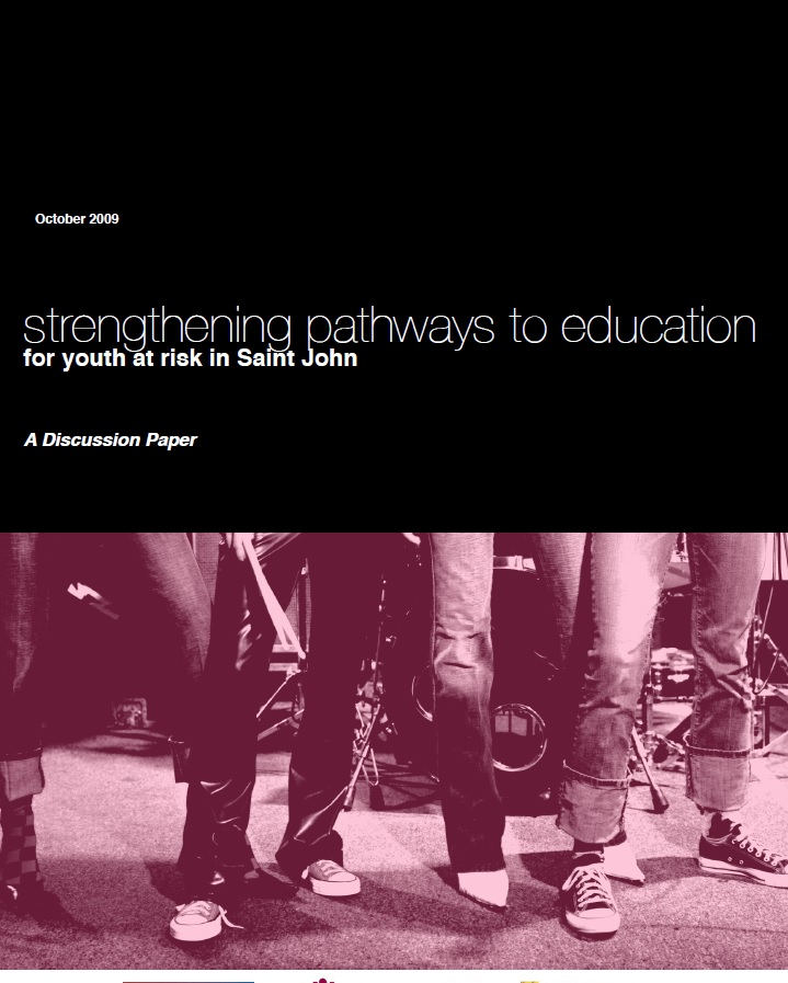 Strengthening Pathways to Education for Youth at Risk Saint John
