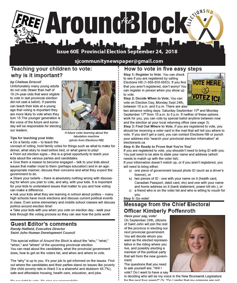 Around the Block Issue 60E