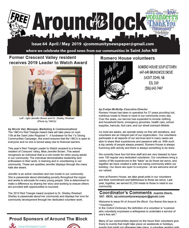 Around the Block Issue 64